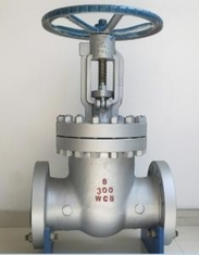 China ASME B16.5 Cast Steel Gate Valve Bolted Bonnet Socket Welding Connection End supplier