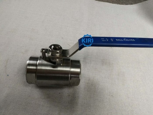 "Stainless Steel High Pressure Ball Valve 1/4"" - 4"" Size Manual Operation"