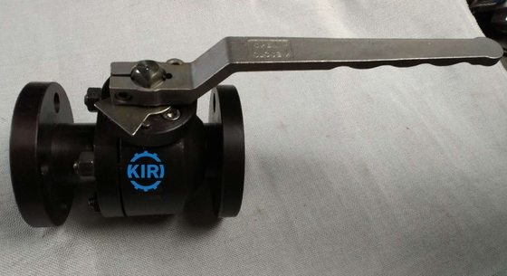 "Flanged End Forged Steel Ball Valve 1/2"" - 4"" Size Working Temp -29 To 300 Degree"