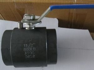 China A105N / F304 Full Port Ball Valve Eco Friendly Materials Easy Maintenance factory