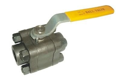 "China Split Body Forged Steel Ball Valve 1/2"" - 4"" Size Manual Operation High Durability factory"