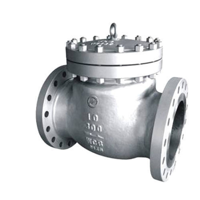 China Silver Color Cast Steel Swing Check Valve Premium Quality ISO9001 Certification factory