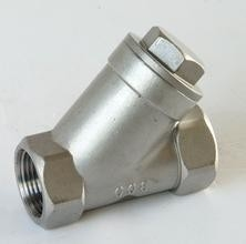 API 598 Screwed End Stainless Y Strainer Ss316/CF8M Water Meter Strainer/thread strainer/200wog/NPT